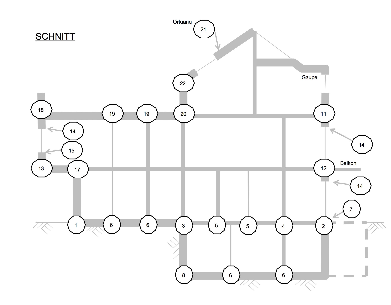 Detail 20 Dachterrasse Flachdach